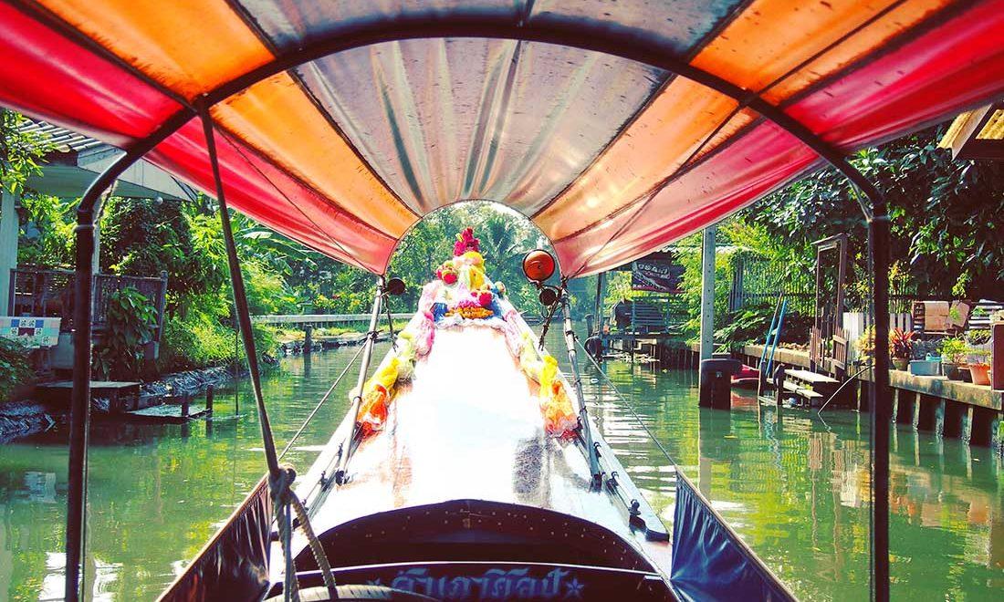 bangkok khlongs bateaux