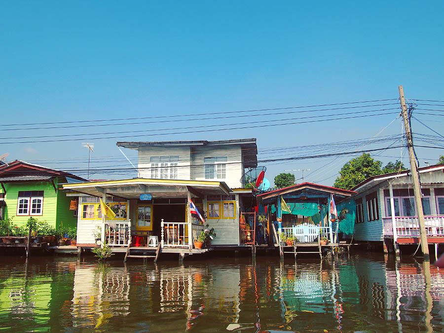 bangkok khlongs maisons