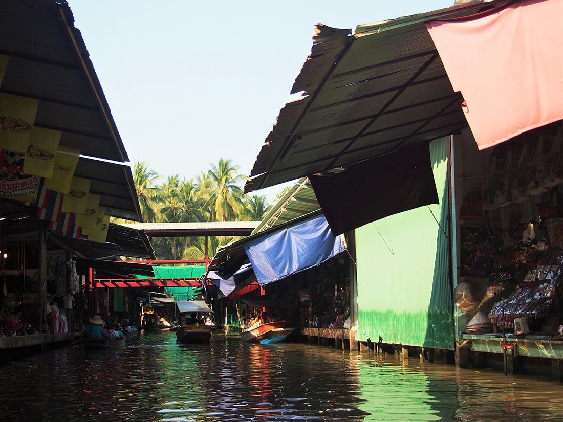 bangkok marche flottant balade