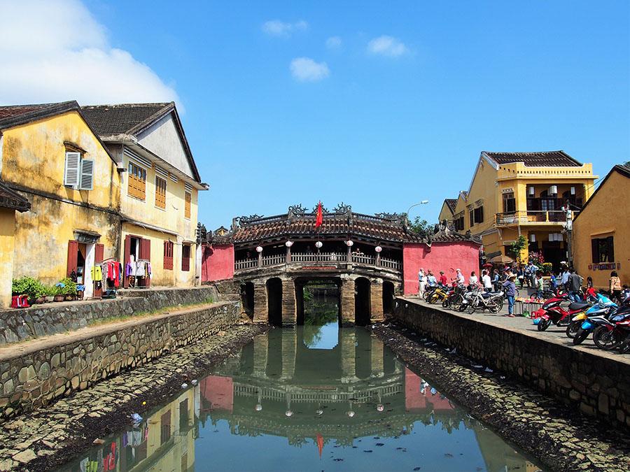 hoi an pont japonais