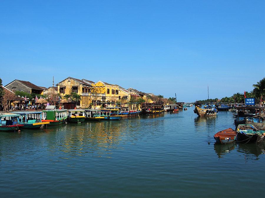 vietnam thu bon riviere