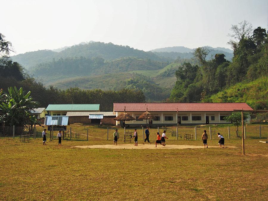 laos hmong ecole