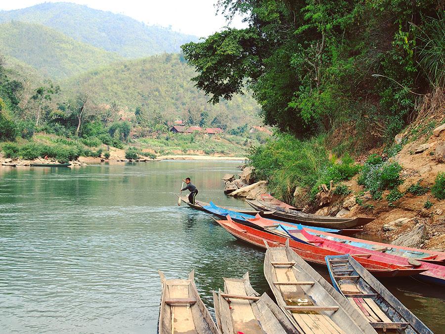 laos riviere nam ou
