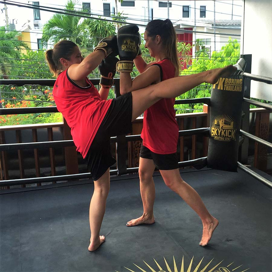 thailande chiang mai cours boxe thai