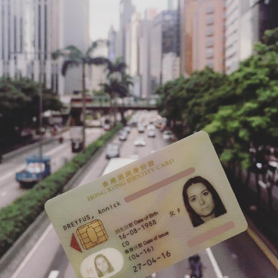 hong-kong id