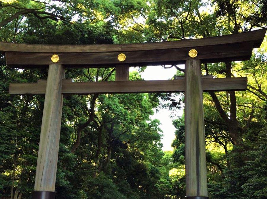 japon temple meiji jingu