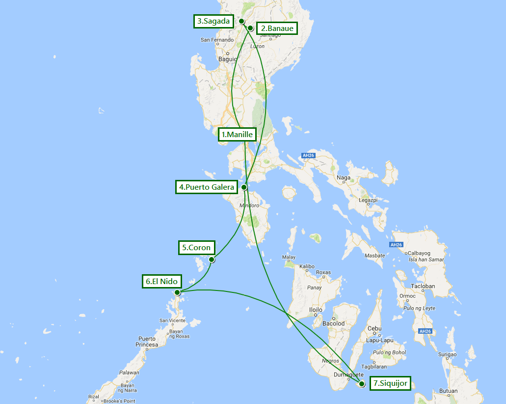 voyage philippines destinations