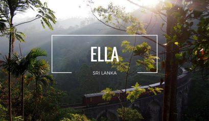 Sri Lanka, Ella