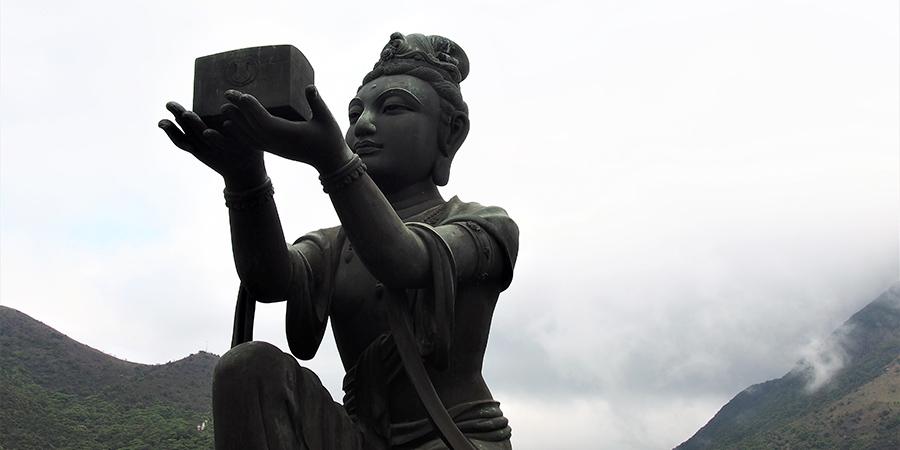 Statue bouddha Hong-Kong