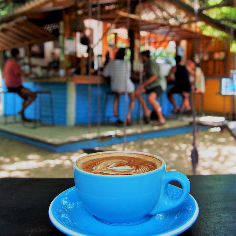 Cappuccino, Hideway, Coffee shop, Arugambay, Sri Lanla
