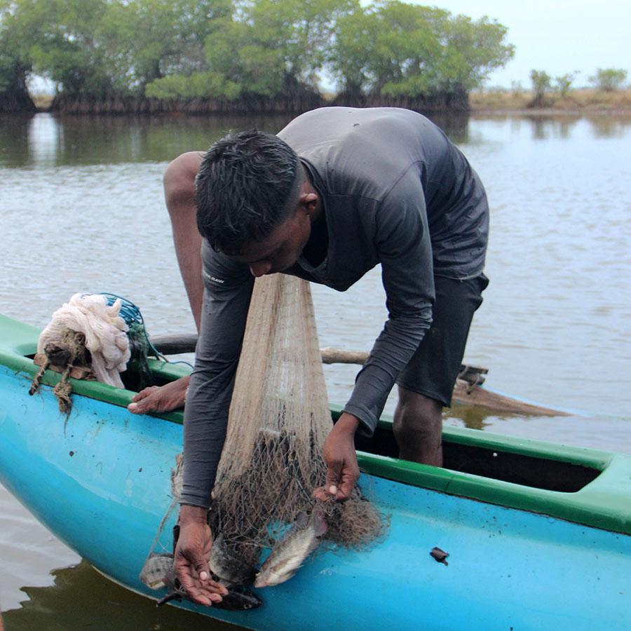 Lagune, Arugambay, Sri Lanka